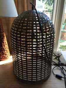 Urban barn swag birdcage lamp... 60