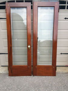 Vintage Interior French Doors