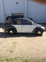 1974 Volkswagen beetle restored