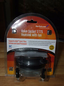 Value Socket T-775 Heatsink With Fan - NIP - $10.00