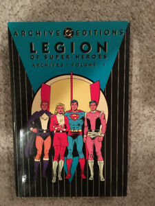 NM DC ARCHIVES LEGION OF SUPER-HEROES VOL. 1, 2, 4, 6, 7, 9.