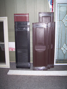 CLEAR-OUT STORM DOORS, WINDOWS, SHUTTERS, GLASS LITES, & LOUVRES London Ontario image 2