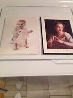 Two Pictures....Easy to mount on wall....excellent condition....