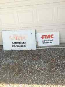 FMC Agricultural Chemical Signs