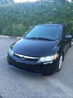 Honda Civic 2006 very low km urgent sale