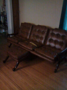 leather couch needs home