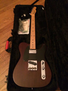 "Fender Telecaster ""10 for 15"" Reclaimed Redwood"