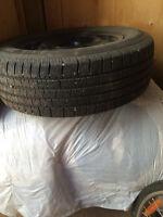 215 65R 16, Motomaster, Four sets, Tire,Rim & Sensor, all season