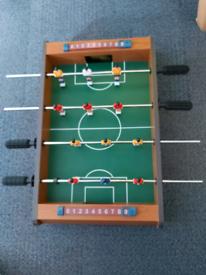 Tabletop Football Table- Portable Mini Table Football