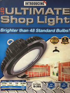 LED ULTIMATE SHOP LIGHT