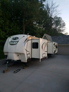 Jayco Executive travel trailer for rent.