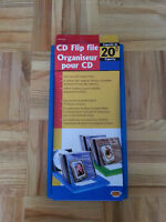 cd flip rack cd holder - brand new - never used