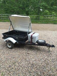 Mortorcycle/small car trailer