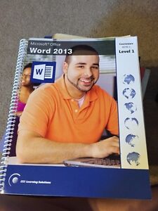 Microsoft office word 2013 level 1