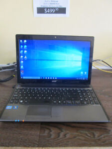 Acer Aspire 5755 i7 Notebook with 400GB SSD Hard Drive!
