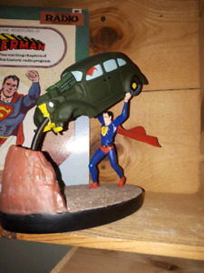SUPERMAN STATUE  BY ACTION COMICS