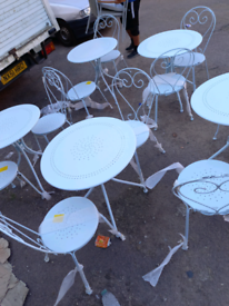 Metal Table with 2 Chairs only £75. RBW Clearance Outlet Leicester Cit