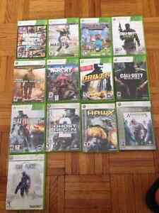 XBOX 360 GAMES MINT CONDITION
