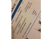 Steps Tickets, Aberdeen, Fri 17th Nov.