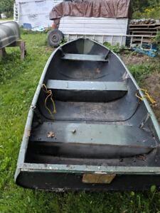 12 ft. aluminum boat