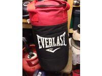 Everlast punching bag BRAND NEW
