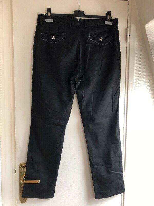 Pantalon chino homme noir nodus