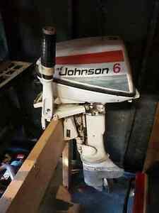 plder 6hp Johnson Outboard