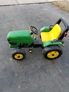 Toy tractor for kids