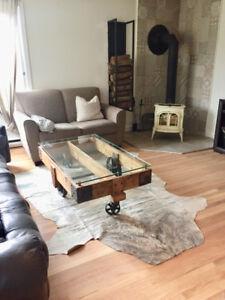 Bas de duplex à louer (avec sous-sol, garage & cour arrière)