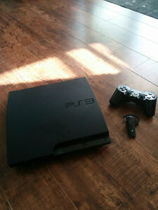 PS3 system with 20+ games and some Blu-Ray movies for sale!