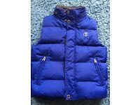 Timberland Blue Gilet Age 8