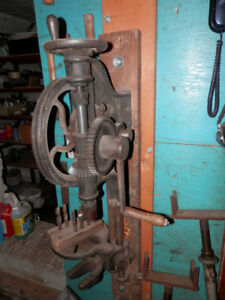 Antique Post Drill