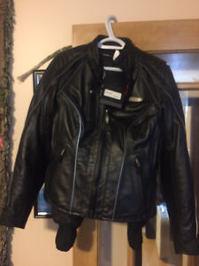 Womens Harley Davidson Leather Jacket,  Med. New
