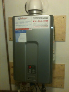 TANKLESS HOT WATER HEATER INSTALLATION