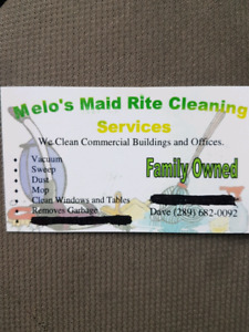Office and commercial cleaning