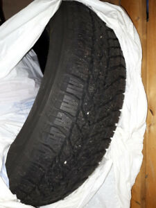 Used Goodyear Winter Tires 225 65R17 & Almost Full Engine Oil