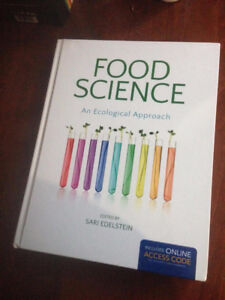 NEW with code! Intro Foods/Nutrition Textbook