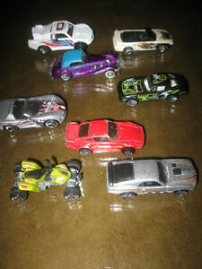 EIGHT HOT WHEEL DINKY TOYS