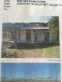 Building plots in Italy