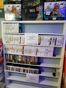 Nintendo Wii, WiiU, GameCube, DS games and more for sale!