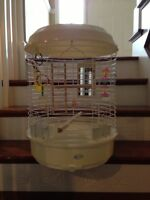Large birdcage with all the accessories