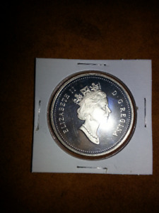 1991 - Proof Silver Dollar