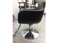 Hairdresser furniture chair
