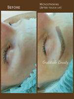 Microblading/ Microstroking / 3D Eyebrows  and Eyeliner tattoo