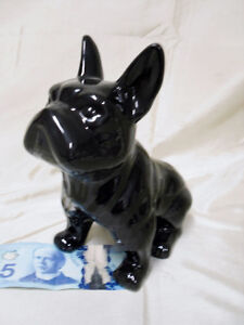 Sale $7.00 Bull Dog pottery Bank