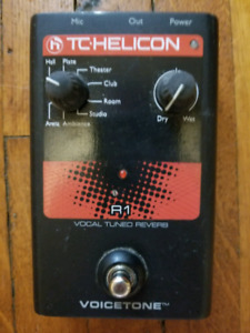 Helicon Vocal Reverb Pedal
