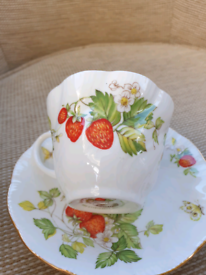 Ringtons Virginia Strawberry cup and saucer