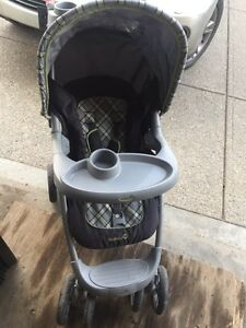 Safety first foldable stroller