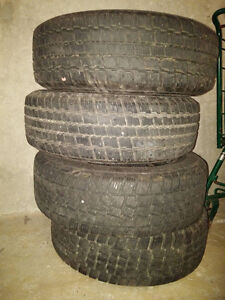 Winter Tires (On Rims) Only Used For One Season!!