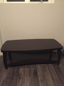 Dark Stained Coffee Table - Good Quality